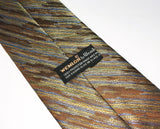 1970s Wide Disco Era Tie Men's Vintage 100% Polyester Necktie with woven abstract design Wemlon by Wembley