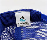 1986 Vintage Men's SEA WORLD San Diego, California Baseball Cap Trucker Hat MINT Unworn Condition Adjustable Adult Size Shamu Whale