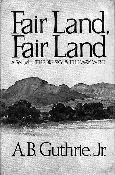 Fair Land, Fair Land (signed)