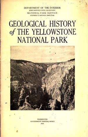 Geological History of the Yellowstone National Park