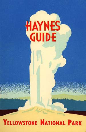 Haynes Guide: Handbook of Yellowstone National Park - 1964