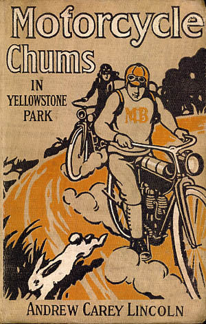 Motorcycle Chums in Yellowstone Park