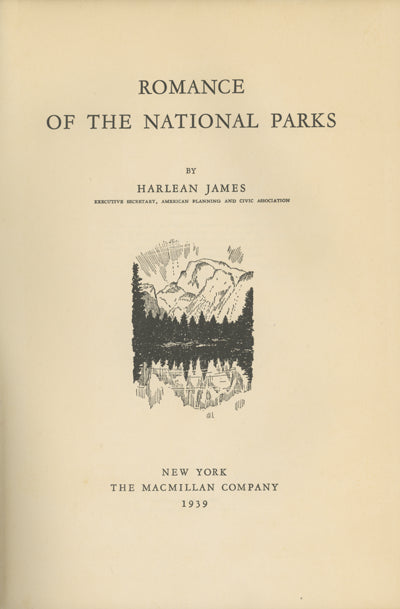 Romance of the National Parks