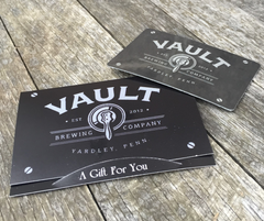Vault Brewing Gift Card