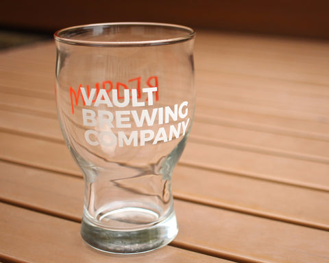 Halloween Vault Brewing Glass 13 oz