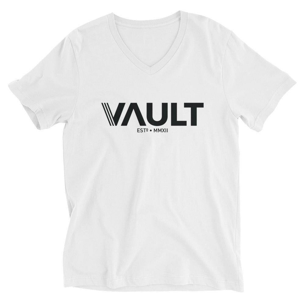 Vault Unisex Short Sleeve V-Neck T-Shirt