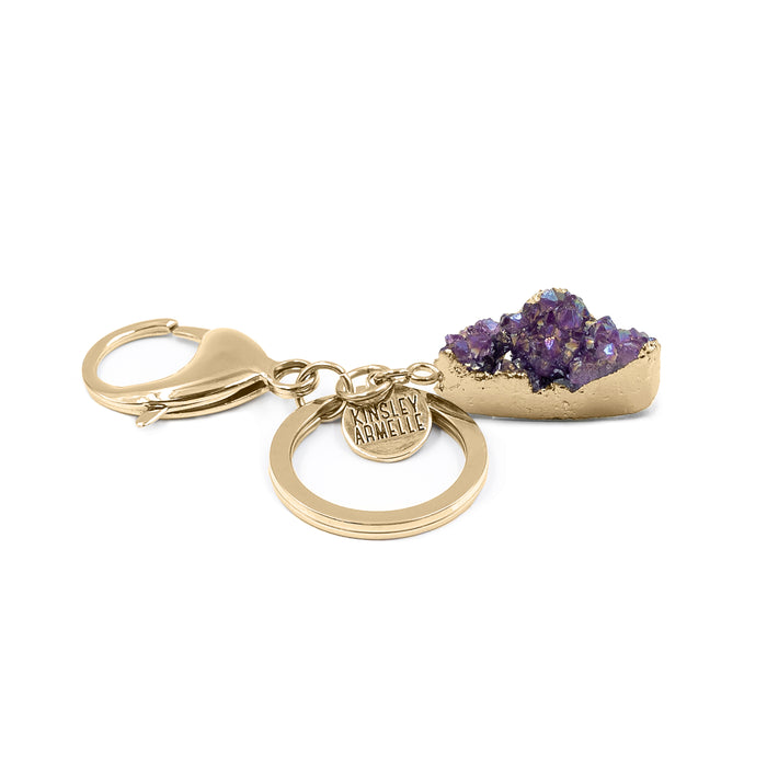 Accessory Collection - Royal Druzy Drop Keychain