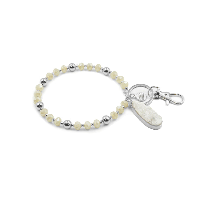 Accessory Collection - Silver Perla Keychain