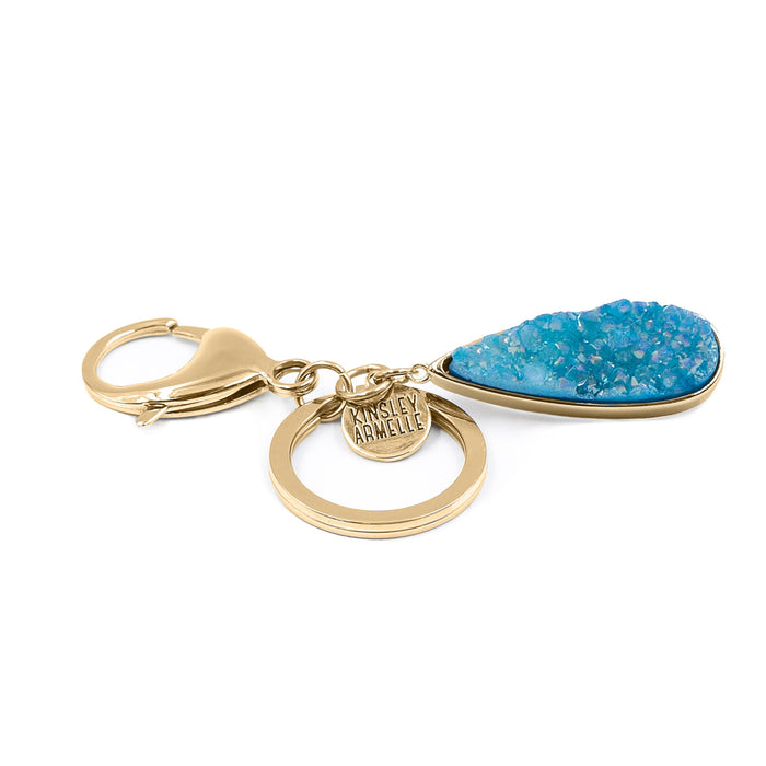 Accessory Collection - Azure Quartz Drop Keychain