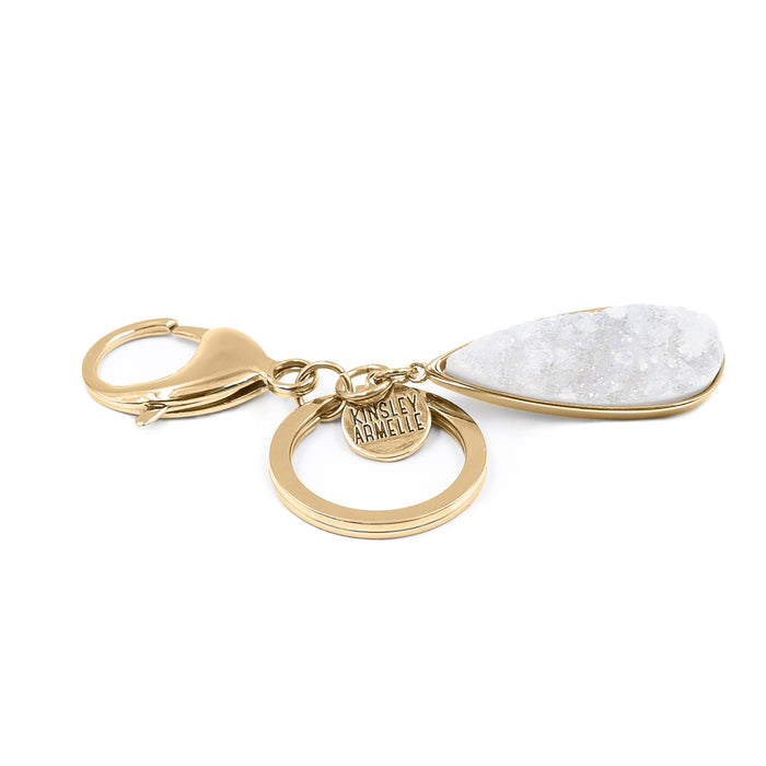 Accessory Collection - Quartz Drop Keychain