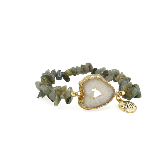 Agate Collection - Haze Bracelet - Kinsley Armelle