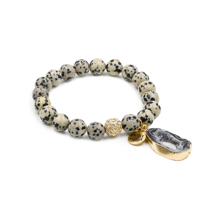 Agate Collection - Speckle Bracelet
