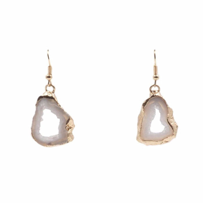 Agate Collection - Chiffon Drop Earrings - Kinsley Armelle
