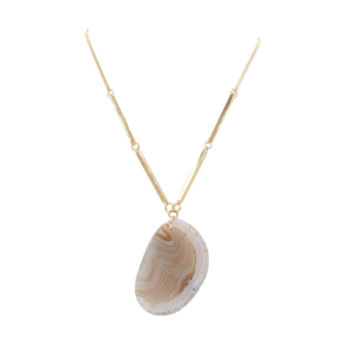 Agate Collection - Ashen Necklace - Kinsley Armelle