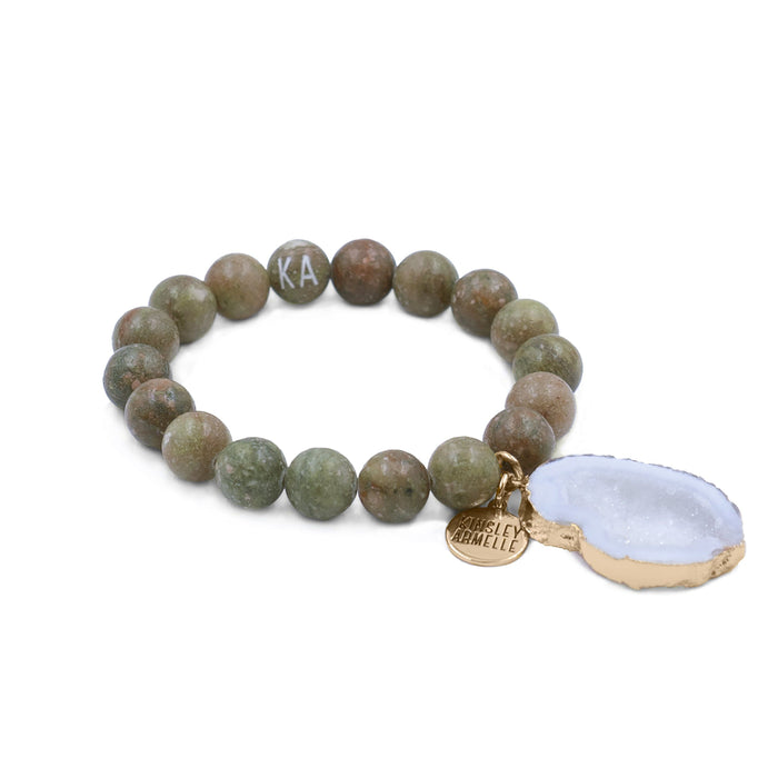 Agate Collection - Briar Bracelet 10mm