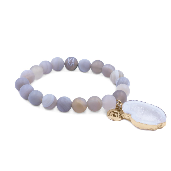 Agate Collection - Cinder Bracelet 10mm