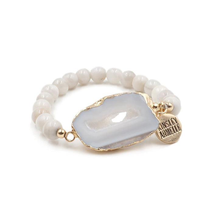 Agate Collection - Flurry Bracelet