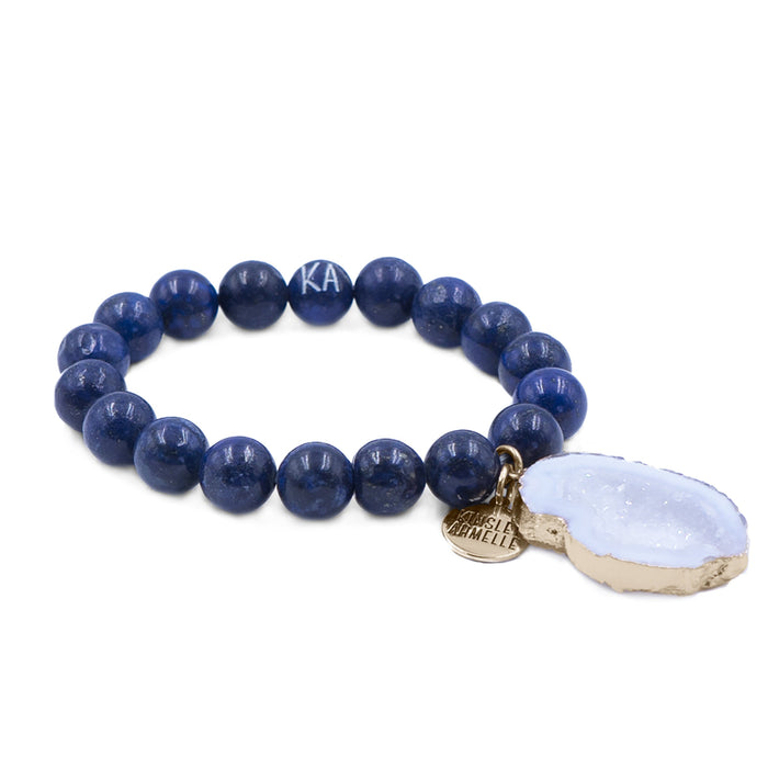 Agate Collection - Indigo Bracelet 10mm