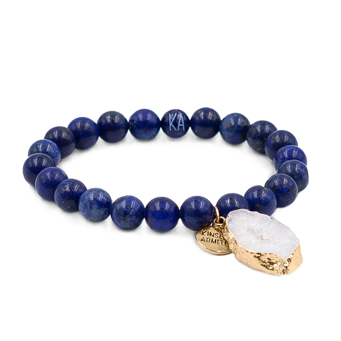 Agate Collection - Indigo Bracelet 8mm