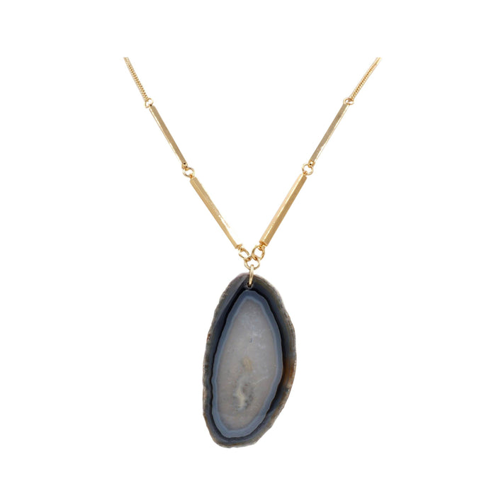 Agate Collection - Slate Necklace - Kinsley Armelle