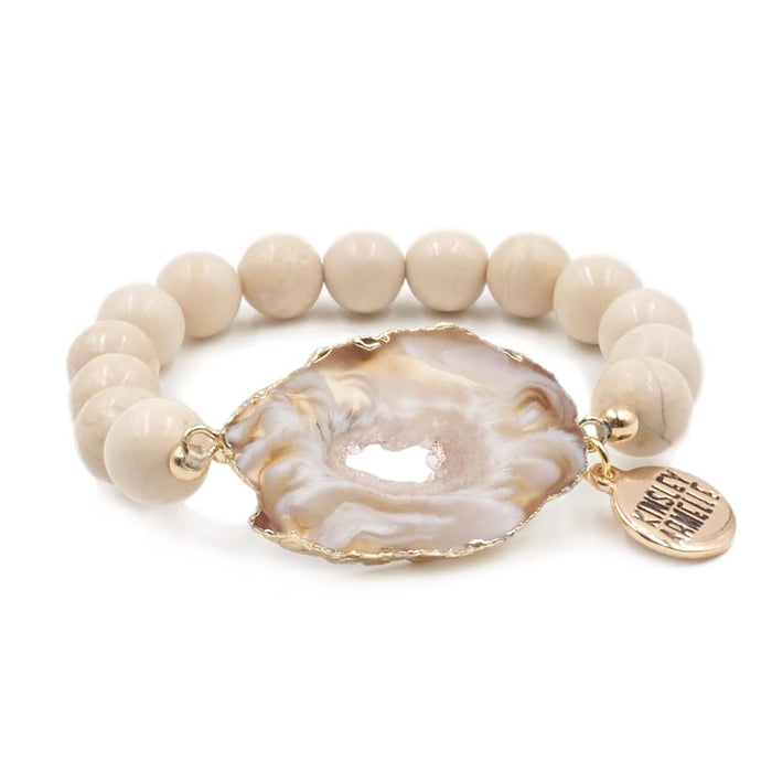 Agate Collection - Tawny Bracelet