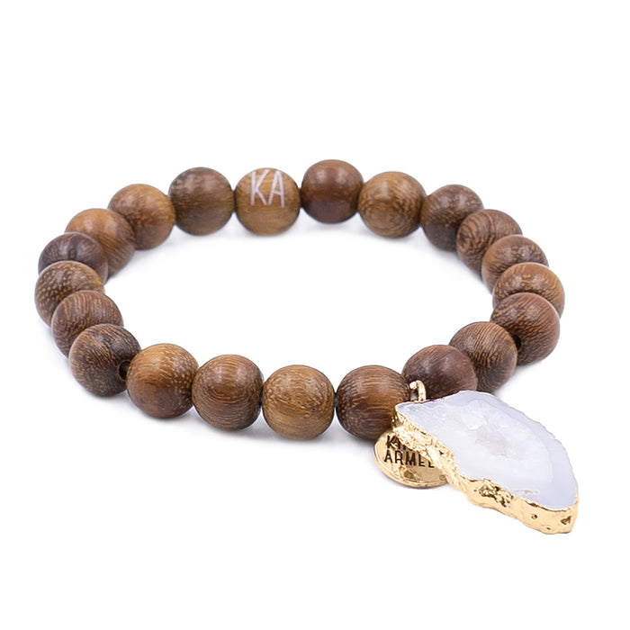 Agate Collection - Timber Bracelet 10mm