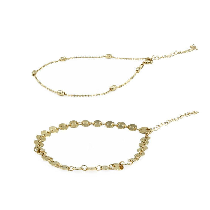 Goddess Collection - Augusta Anklet Set