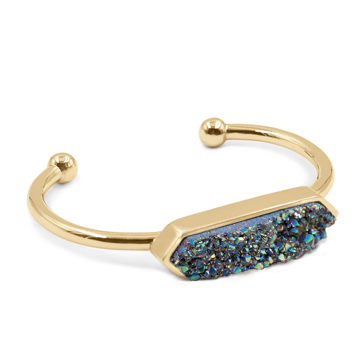 Bangle Collection - Venus Cosmic Quartz Bracelet