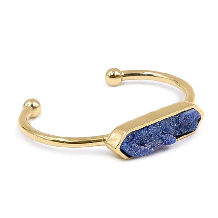 Bangle Collection - Denim Quartz Bracelet (Unique)