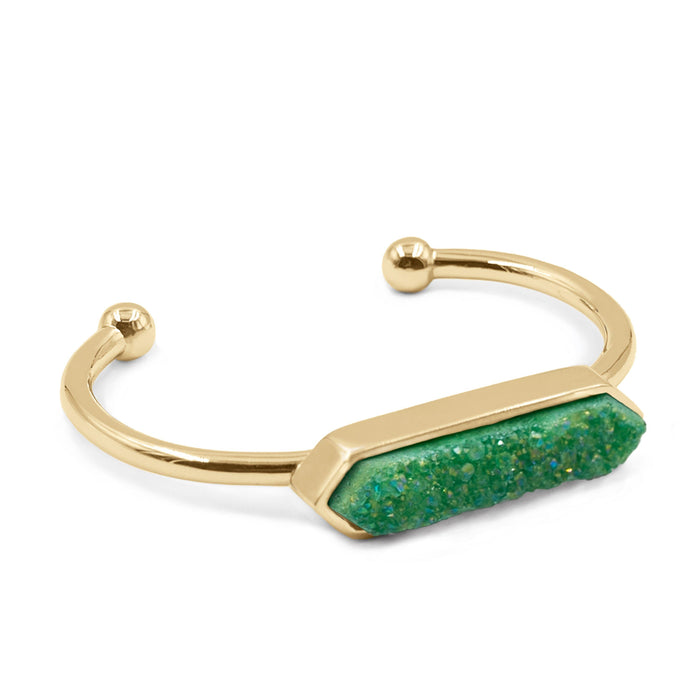 Bangle Collection - Jade Quartz Bracelet