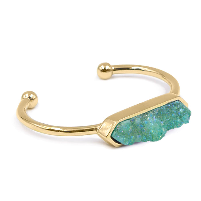 Bangle Collection - Jade Quartz Bracelet (Unique)