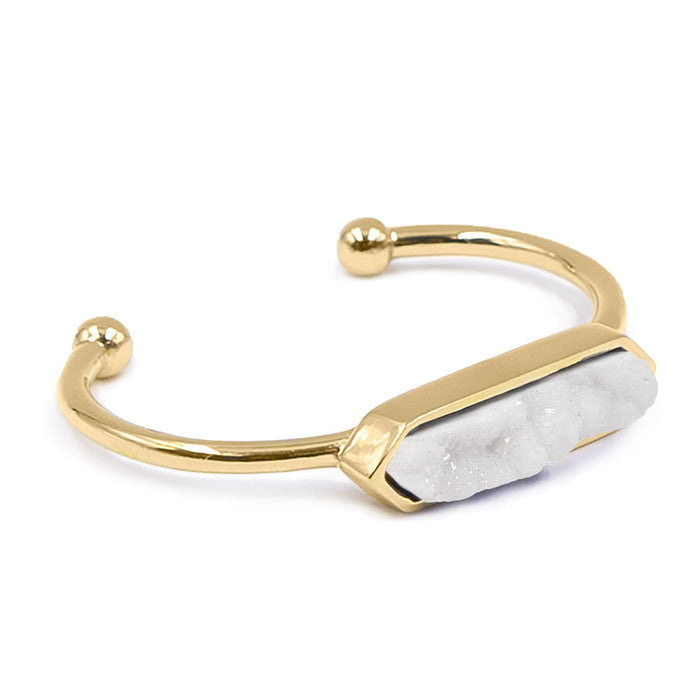 Bangle Collection - Quartz Bracelet (Unique)