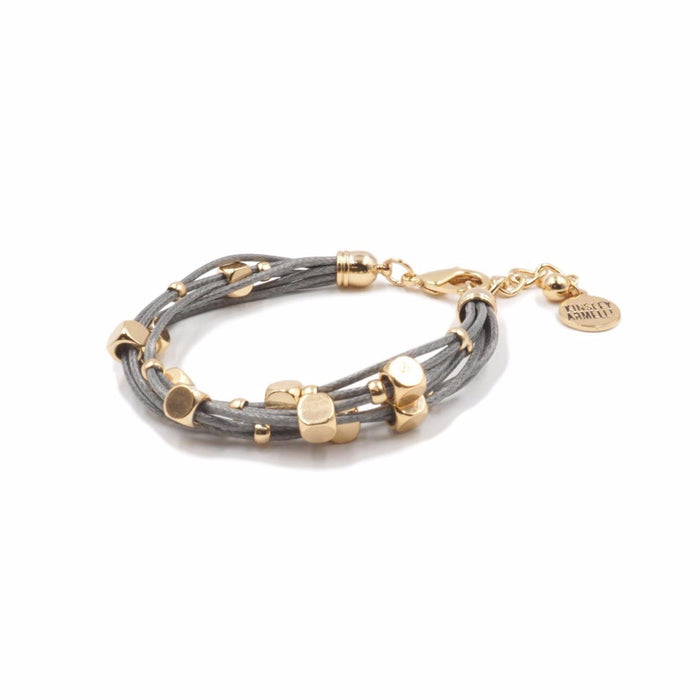Braid Collection - Slate Bracelet - Kinsley Armelle