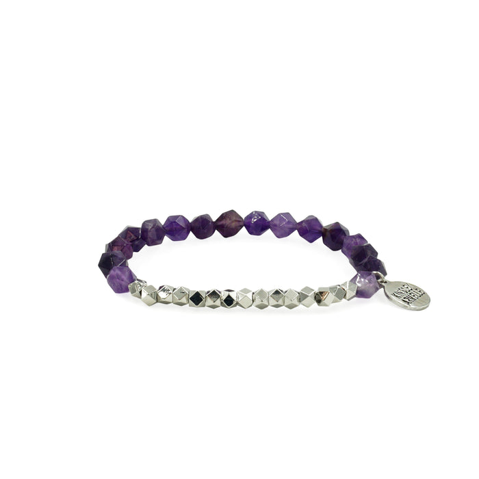 Burst Collection - Silver Royal Bracelet - Kinsley Armelle