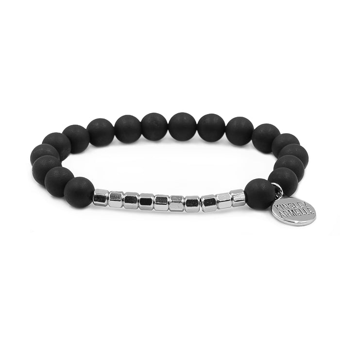 Burst Collection - Silver Raven Bracelet