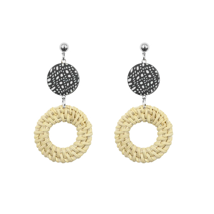 Casita Collection - Silver Dottie Earrings