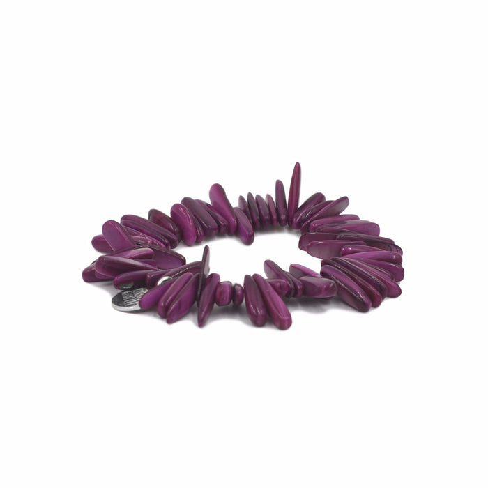 Chip Collection - Silver Magenta Bracelet - Kinsley Armelle