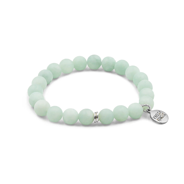 Clarity Collection - Silver Mint Bracelet