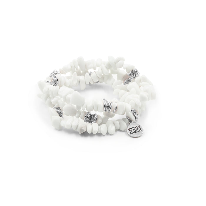 Cluster Collection - Silver Ashen Bracelet