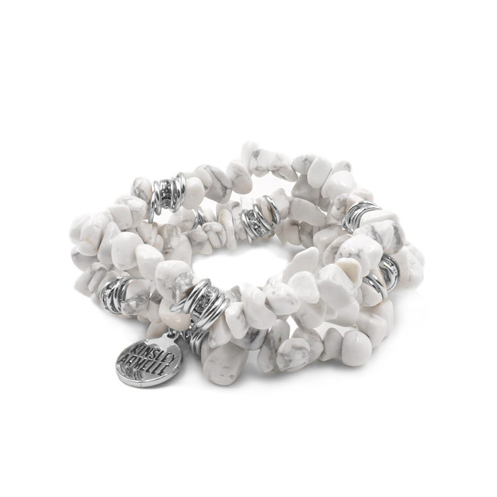 Cluster Collection - Silver Pepper Bracelet