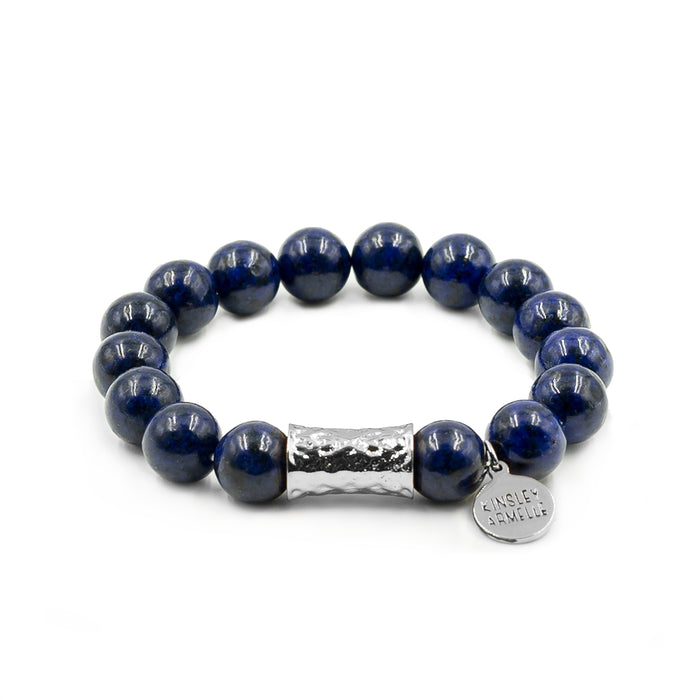 Cyprus Collection - Silver Indigo Bracelet
