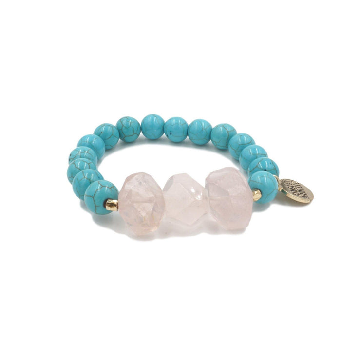 Mineral Collection - Aqua Marine Bracelet - Kinsley Armelle