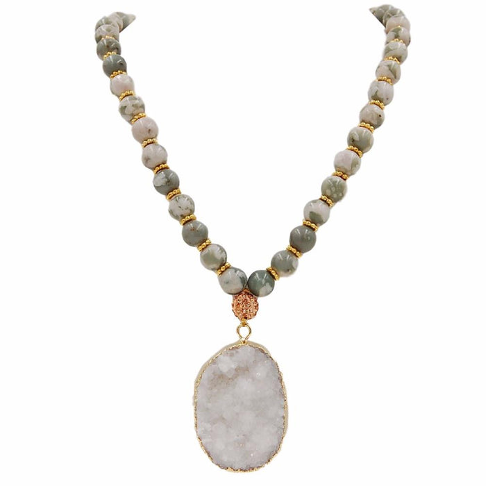 Stone Collection - Sweet Pea Necklace - Kinsley Armelle