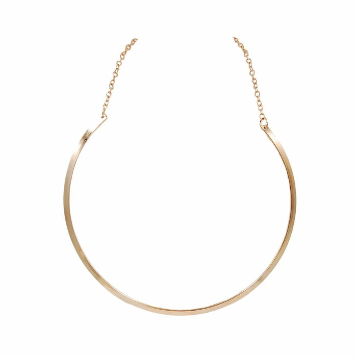 Goddess Collection - Gold Collar Necklace - Kinsley Armelle
