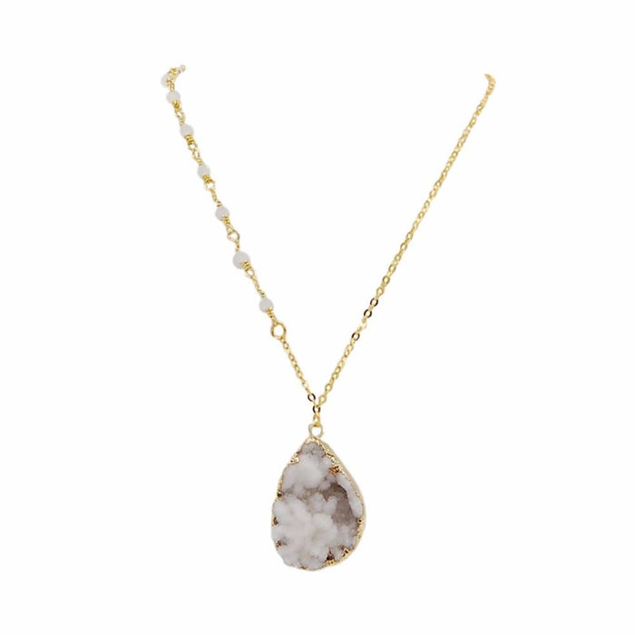 Cluster Collection - Ice Necklace - Kinsley Armelle