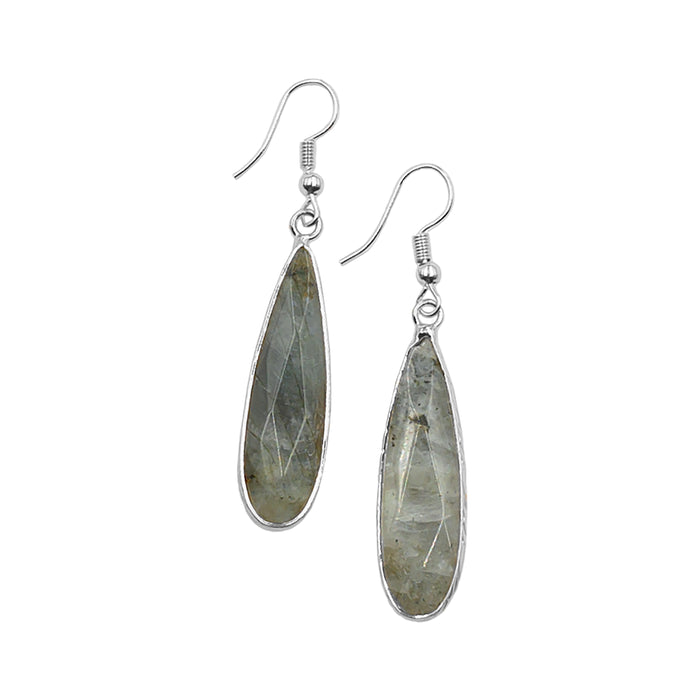 Darcy Collection - Silver Haze Earrings
