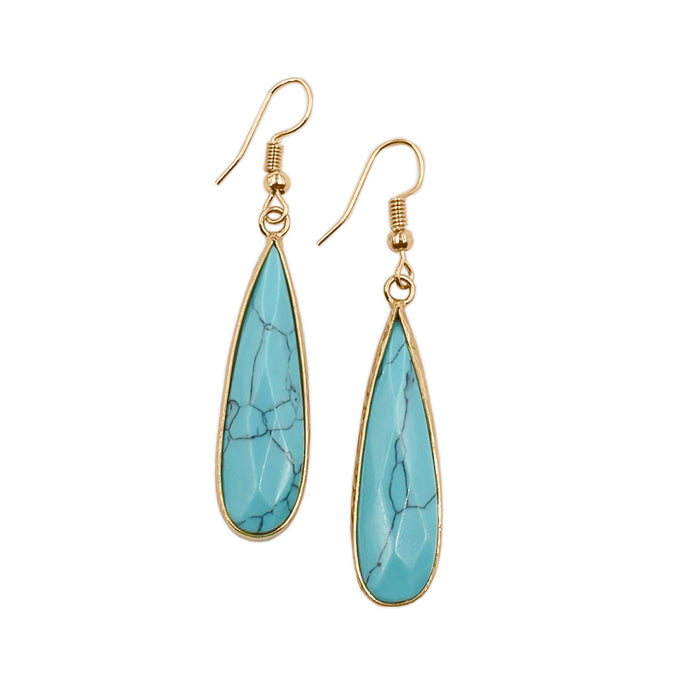 Darcy Collection - Turquoise Earrings