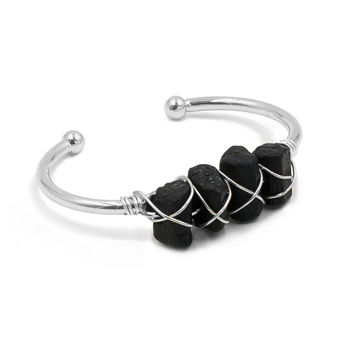 Devi Collection - Silver Raven Bracelet