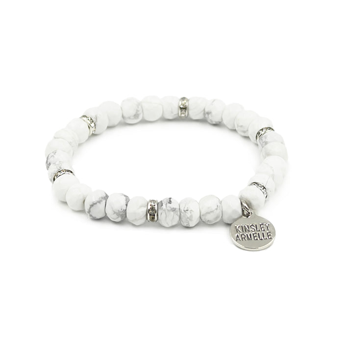 Duchess Collection - Silver Pepper Bracelet