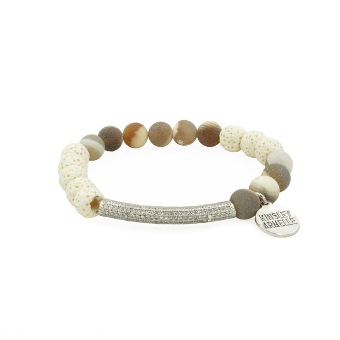 Essential Collection - Silver Meadow Bracelet